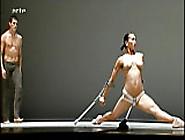 Nude Dancing Performance