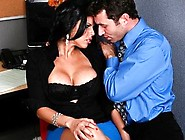 Sexy Big-Boobed Latina Diamond Kitty Has Rough-Sex With Co-Worke