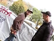 Gay Movie Two Fellas Fall In Guy Enjoy At A Skateboard Park