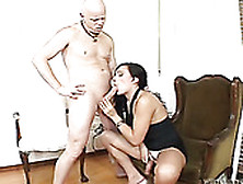 Tall And Leggy Shemale Takes Her Lover's Cock From Behind