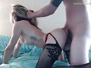 Blonde In Lingerie Pov Fuck