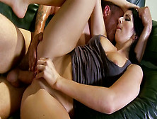 Hot Pussy Of Lusty Chick Audriana Is Stretched For The First Tim