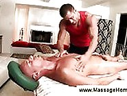 Gay Masseur Inspects His Client Rectally