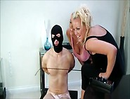 Gimp Is Punished By 2 Mistress
