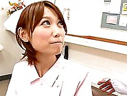 Japanese Nurse Mio Oichi Enjoys Hot Multiposition Sex