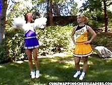 Hot Cum Swapping Cheerleaders Katja Kassin Jasmine Byrne Hot