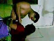 Real Homemade Indian Aunty In Saree Having Sex With Hub