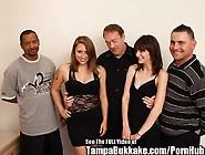 Teen School Sluts Bukkake Group Fuck Party!