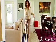 Sara Jay Enjoys A Succulent Dick