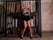 Delicious Busty Milf Is Punished In The Prison