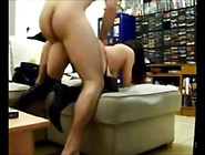 Bored Wife Fucked Doggystyle By Stranger At The Shop