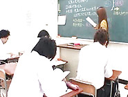 Sexy Asian Teacher Is Giving Blowjob To Her Best Student
