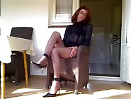Just A Mature Crossdresser Feeling Lonely And Bored On Web Camer