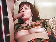 Horny Mature Milf Fingering Her Pussy And Gets Hard Cock To Suck