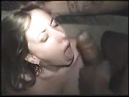 Brunette Wife Takes Bbc At Party