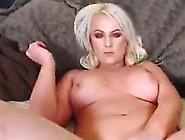 Busty Blonde Girl Live Cam Strip