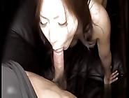 Japanese Cumslut Milf Sucks Cock And Gets Creampie