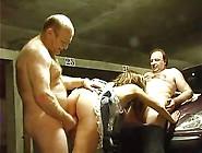 Fat Old Men's Fuck 18Y Slut On Underground Parking