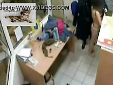 Shoplifter Strip Searched