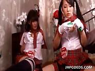 Sweet Japanese School Girls Fucked As Sex Slaves In Group