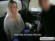 Big Boobs Customer Nailed By Fake Driver