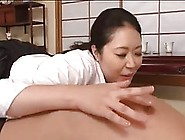 Chubby Asian Mom Is Giving Pleasure To A Horny Guy Who Is Not He