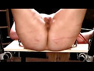 Screaming Open-Legged Caning