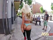 Big Booty Blondie Fesser Spanish Slut