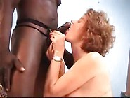Pretty Woolly Experienced Woman Having Passionate Interracial Se