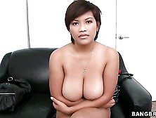 This Exotic Looking Girl Reina Has No Boundaries.  She Is Ready F