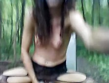 Teen Being A Slut In The Woods. Flv