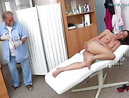 Shy Girl Visits Gynecologist. Mp4