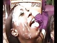 Black Girls Take White Shower