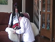 Hot Crossdresser Schoolgirl Fucked By Her Boyfriend