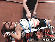 First Time Bdsm Hardcore Strapping And Pussy Torturing