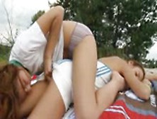 Two Lesbian Babes From Italia