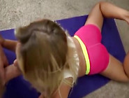 Yoga With Hot Blonde Daughter - Hotcamgirls.today