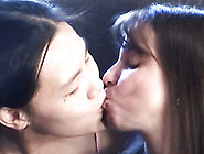 Sexy Asian Teen And Her Young Girlfriend In First Lesbian Experi