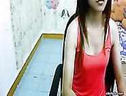 Long Legged Asian Dumpster Is Gonna Suck One Hard Sweet Cock