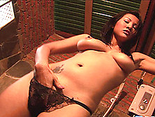 Asian Beauty Takes A Shower And Gets Totally Erotic And Wild