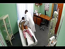 Fakehospital Young Teen Girl Not On Birth Control Bends Over For