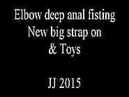 Femdom Deep Anal Fisting,  Huge Strapons