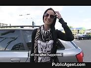 Publicagent - Ex Model Sucks And Fucks Cock