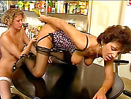 Watch These Mature Lesbians Toying Each Other While In The Kitch