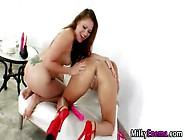 Milky Enema Ass Rimmed By Lesbo