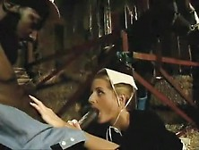 Vintage Interracial Fuck In A Shed