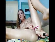 Amateur - Mature Anal Dildo & Intense Creamy Orgasms On Cam