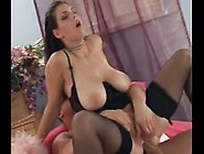 Big Boobed Chick Ass Fucked