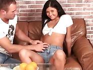 Panty Job - Licking Teen's Pussy Through Panties