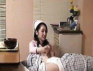Sexy And Lustful Oriental Nurse Offers A Nerdy Patient A He